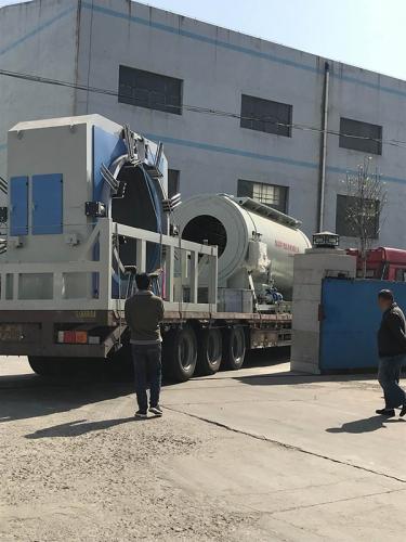 1380mm管材设备发往大连