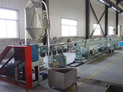 PE/PPR/PERT/供水燃气地暖管材生产线
